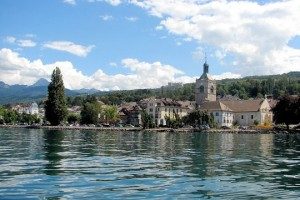 Cure thermale, Evian les Bains